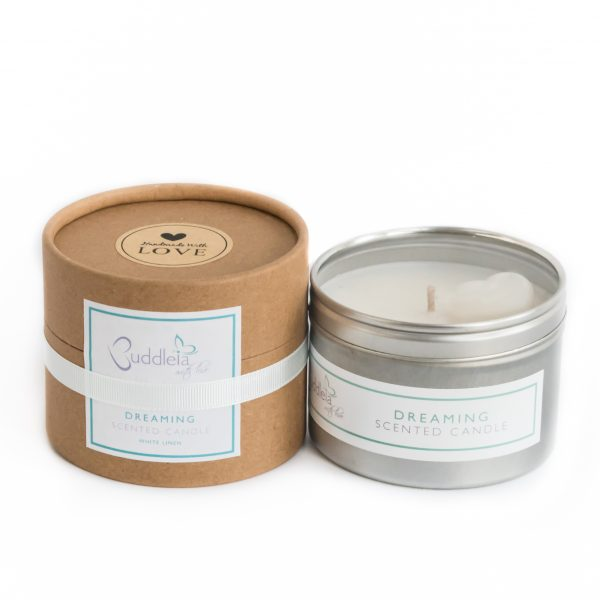 Dreaming Large Tin Candle