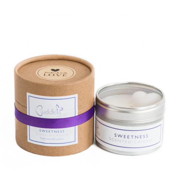 Sweetness Small Tin Candle