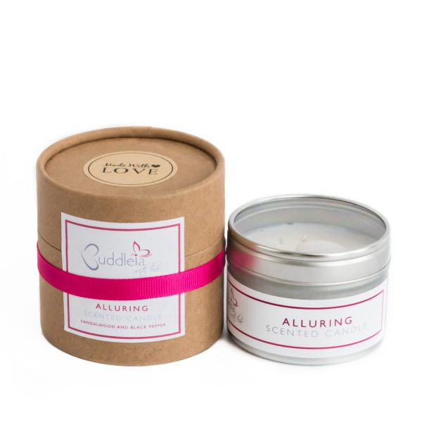 Alluring Small Tin Candle