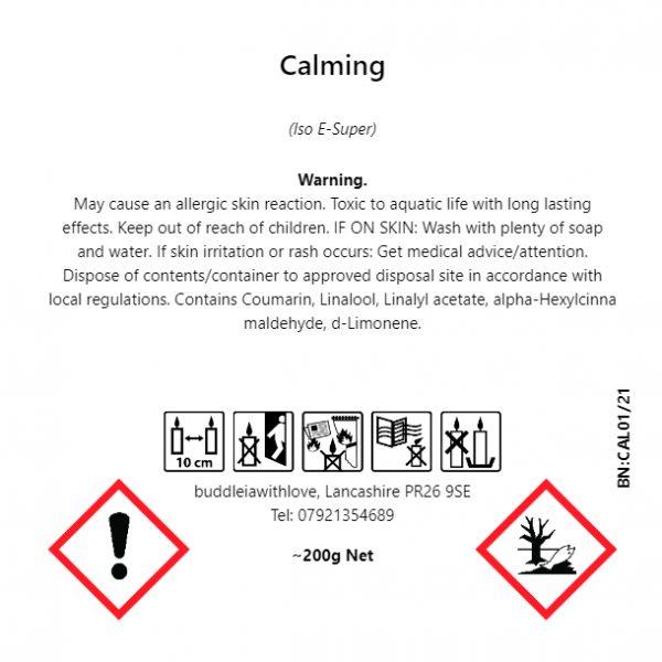 Calming (Blackcurrant & Tuberose) Pamper Box