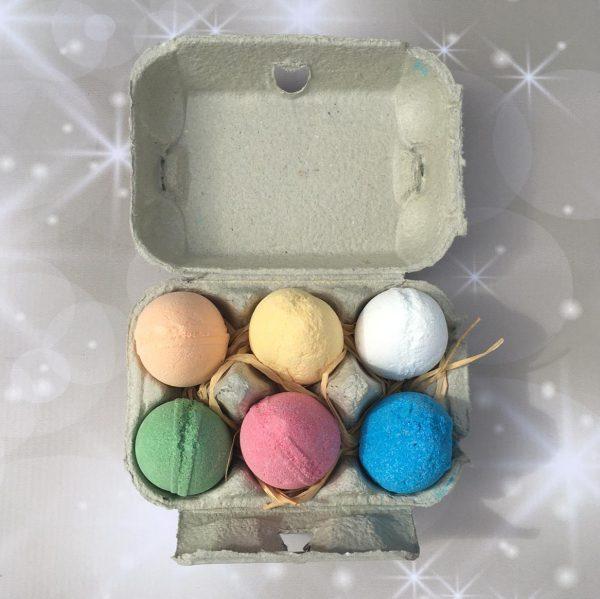 Bath Bomb Eggs
